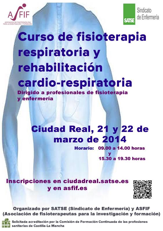 Fisioterapia respiratoria y rehabilitación cardio-respiratoria