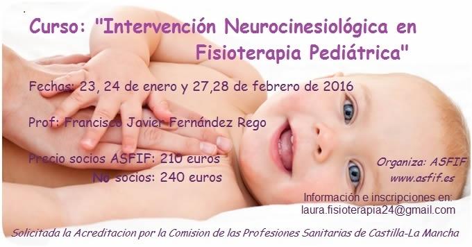 Intervencion Neurocinesiológica en Fisioterapia Pediátrica