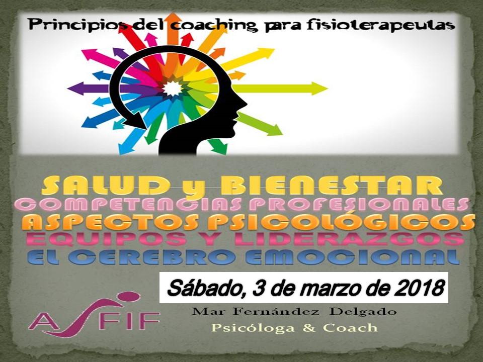 Coaching para fisoterapeutas - Seminario de Principios